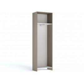Гостиная Лацио Серый камень/Дуб гладстоун Шкаф для одежды