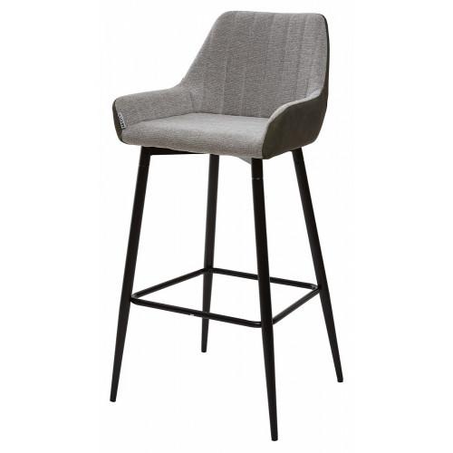 Барный стул PUNCH светло-серый меланж