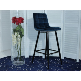 Барный стул LECCO NAVY BLUE