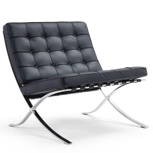 Кресло BARCELONA CHAIR чёрный FR 0014
