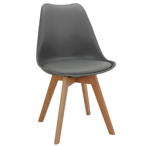 Стул Eames Bon серый FR 0025