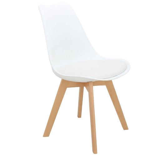 Стул Eames Bon белый FR 0023