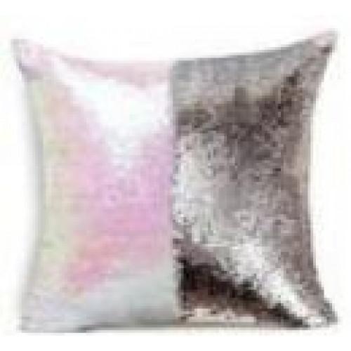 Подушка декоративная «РУСАЛКА» цвет белый матовый/серебро TD 0478