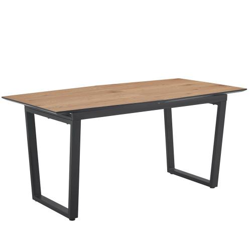 Стол Master раздвижной 160/200 х 90х 76см, цвет орех FR 0368