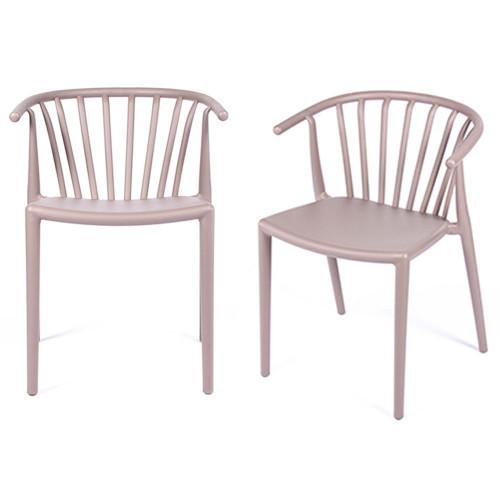 Комплект из 2-х стульев Venice латте FR 0202P