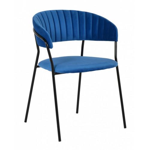 Стул Turin синий с чёрными ножками FR 0393