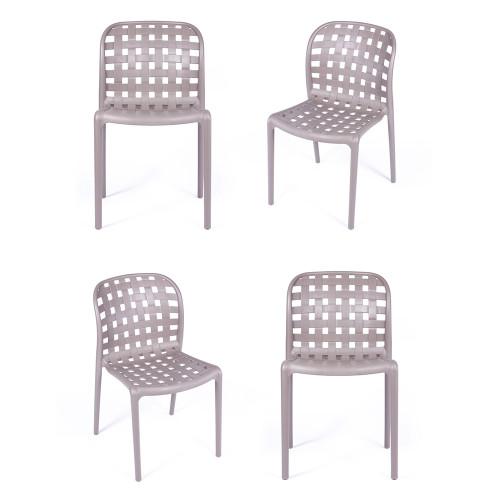 Комплект из 4-х стульев Olimpia латте FR 0198K