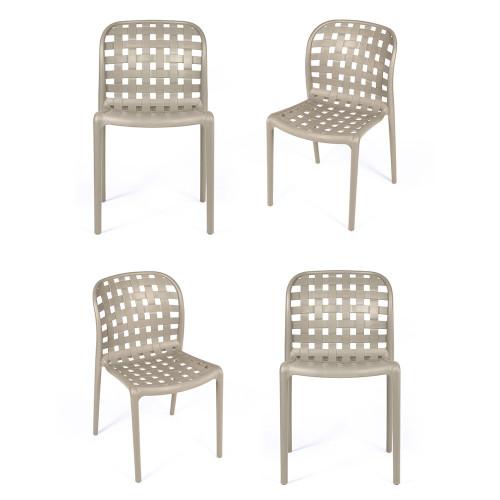 Комплект из 4-х стульев Olimpia кремовый FR 0199K