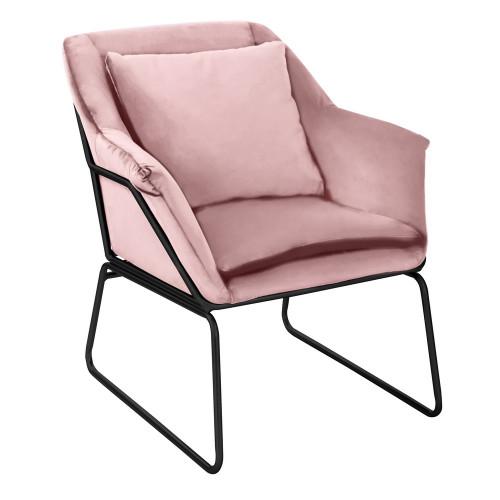 Кресло ALEX пудровый FR 0413