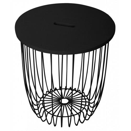 Кофейный столик Easy, чёрный большой FR 0419-1