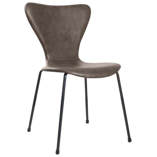 Стул Seven Leather коричневый FR 0456