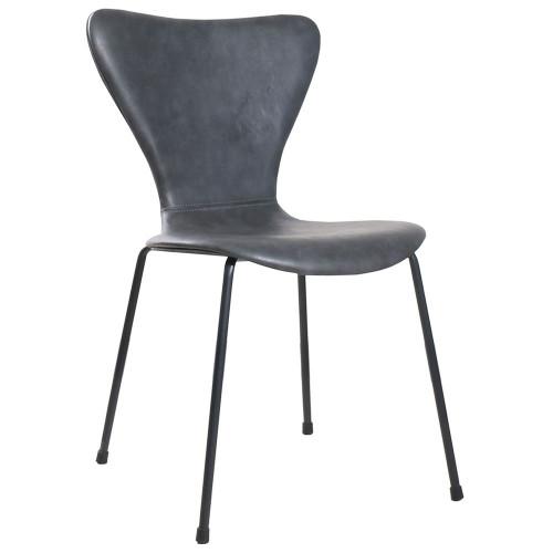 Стул Seven Leather серый FR 0457