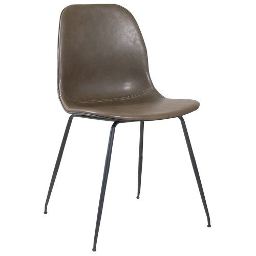 Стул City коричнево-серый FR 0459