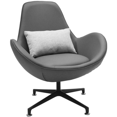 Кресло OSCAR серый FR 0672