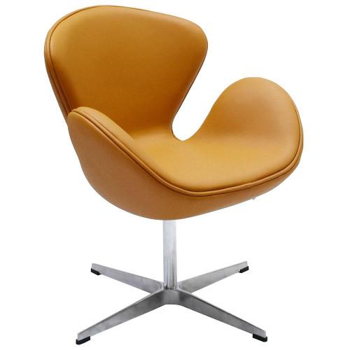 Кресло SWAN CHAIR оранжевый FR 0660