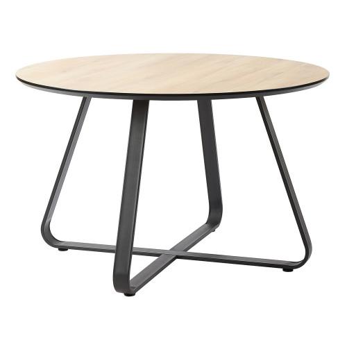 Стол Toronto дуб c чёрным, 120см FR 0641