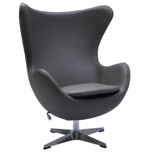 Кресло EGG CHAIR серый FR 0567