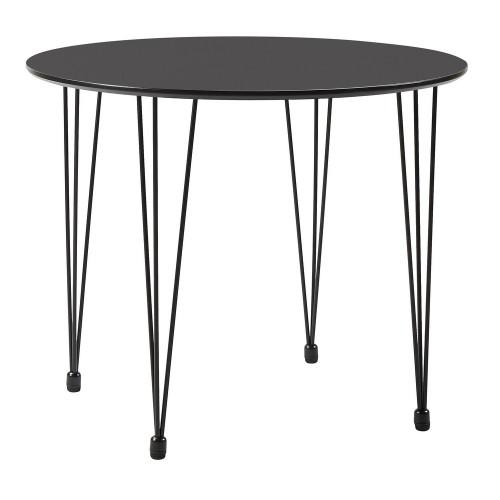 Стол Solution чёрный, 90см FR 0627