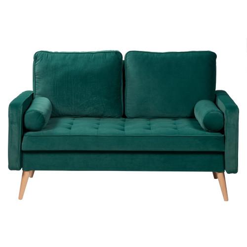 Диван Scott двухместный зеленый FR 0776