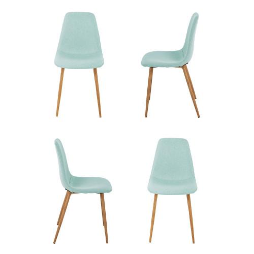 Комплект из 4-х стульев Comfort бирюзовый FR 0409K