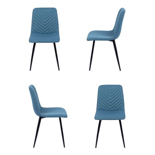 Комплект из 4-х стульев Vicky синий FR 0504K