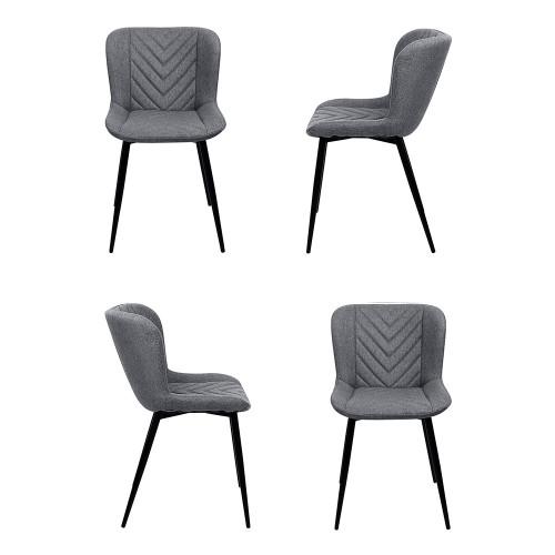 Комплект из 4-х стульев Victory серый FR 0506K