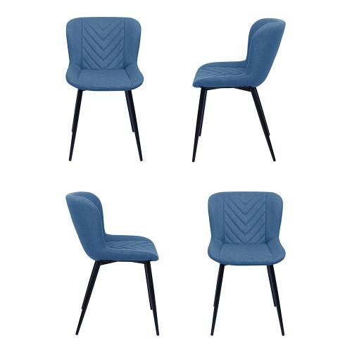 Комплект из 4-х стульев Victory синий FR 0507K
