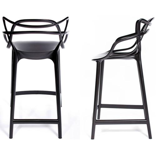 Комплект из 2-х стульев полубарных Masters чёрный FR 0132P