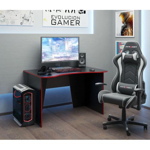 Стол игровой Интерплей-1 черный / красный