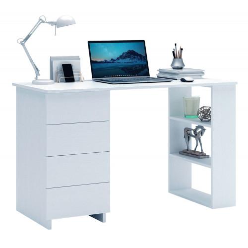 Стол компьютерный Уно-5 белый