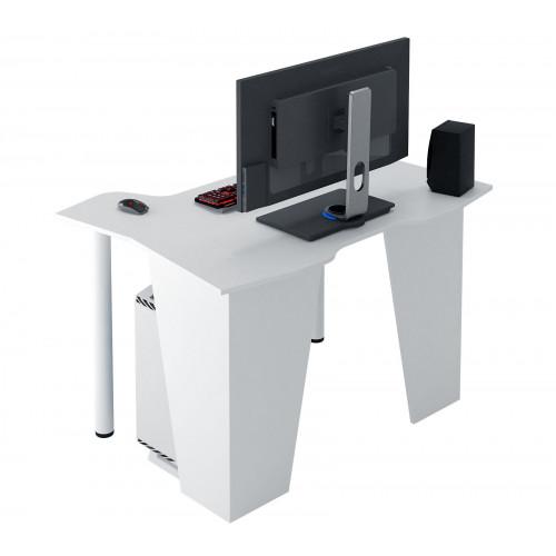 Стол игровой Страйкер-2 белый