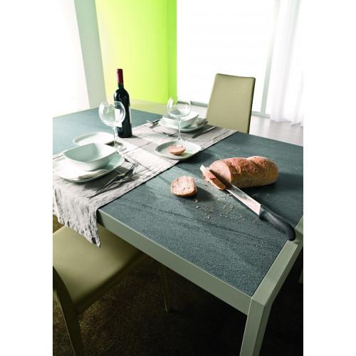 Стол LEO (42.55)120/170*80*Н75 см (М312/M312/ D006/D006 цвета лавовый камень)