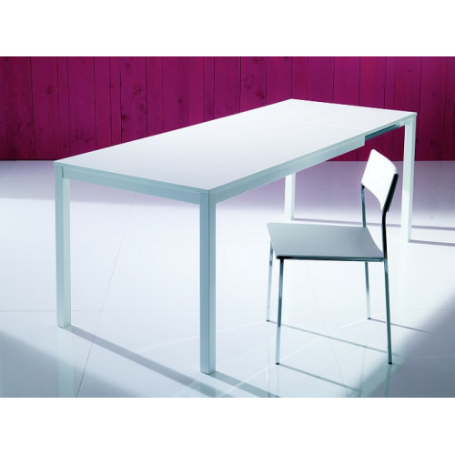 Стол MAGO (01.34) 100/140*70*Н75 см (М313/ M313/М313 сер-кор.композит+L072ал)