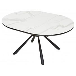 Стол VOLAND BIANCO TL-45 испанская керамика/ BLACK