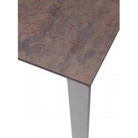 Стол CORNER 120 IRON COPPER/ GREY1 М-City