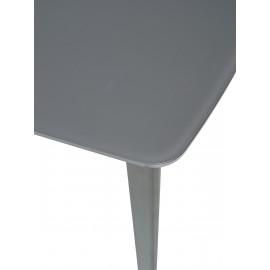 Стол ELIOT 120 GREY1 матовое серое стекло/ GREY1 каркас М-City