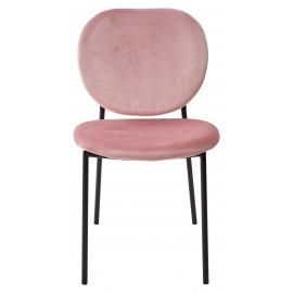 Стул MOD G062-78 розовый, велюр M-City