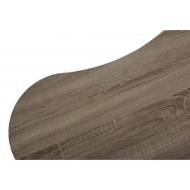Стол журнальный WOOD61 #4 дуб серо-коричневый винтажный M-city