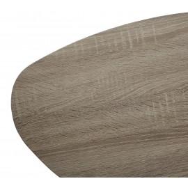 Стол журнальный WOOD84 #4 дуб серо-коричневый винтажный M-city