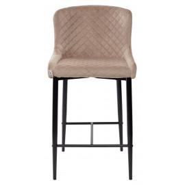 Полубарный стул ARTEMIS бежевый, велюр G108-74 (H=65cm) М-City