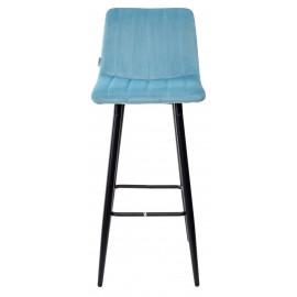 Барный стул DERRY G108-57 пудровый бирюзовый, велюр М-City