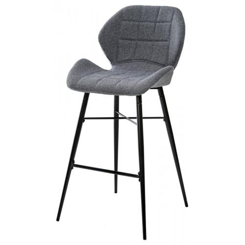 Барный стул MARCEL TRF-09 серый кварц, ткань М-City