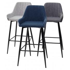 Барный стул PUNCH антрацитовый меланж FC-09/ MF-03 М-City