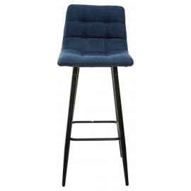 Барный стул SPICE TRF-06 полночный синий, ткань М-City