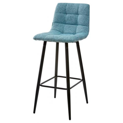 Барный стул SPICE TRF-07 морская волна, ткань М-City