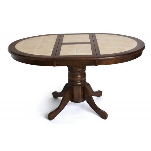 CT 4257 Стол круглый с плиткой раскладной
