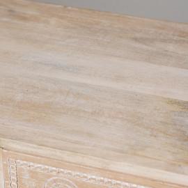 Cтол консольный Secret de Maison Munnar (mod. 1801) дерево манго/металл, 115х79х40см, натуральный/white wash
