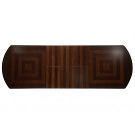 Стол раскладной Jupiter ( JT-T10EX3L2 ) дерево гевея/мдф, 240+39+39+39х120х75см, Tobacco