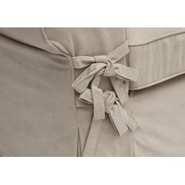 Диван Secret De Maison Butterfly (mod.5220-60) дерево береза, ткань: хлопок, 213х95х88см, бежевый / AJ808-05